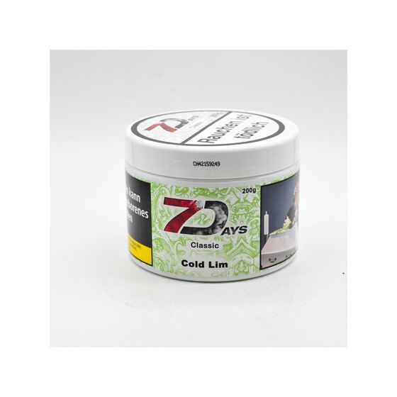 7Days Cold Lime 200g