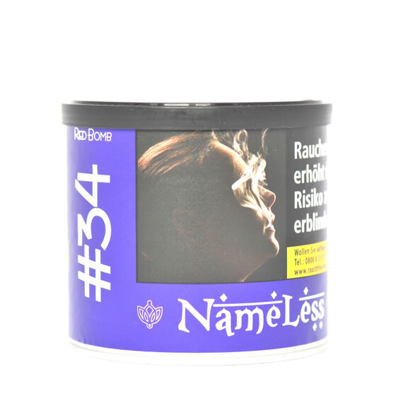 Nameless Tobacco #34 Red Bomb 200g