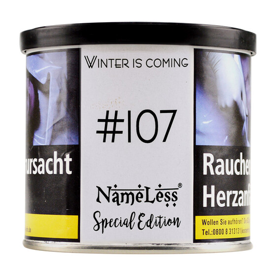 Nameless Tobacco #107 Winter is Coming 200g