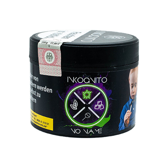 INKOGNITO Tobacco - No Name - 200g