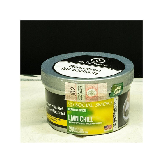 Social Smoke 200g - LMN CHILL